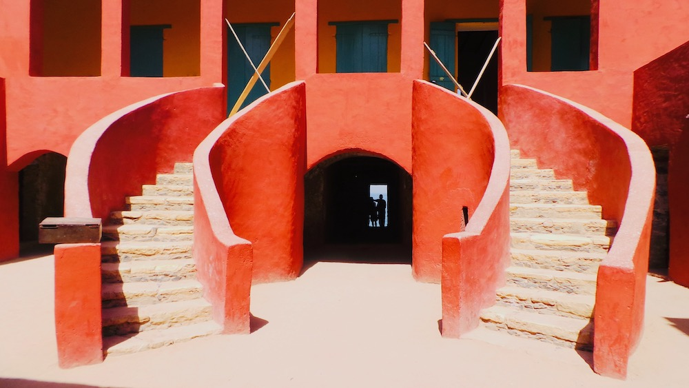 Senegal vakantie Ile de Goree slavenhuis