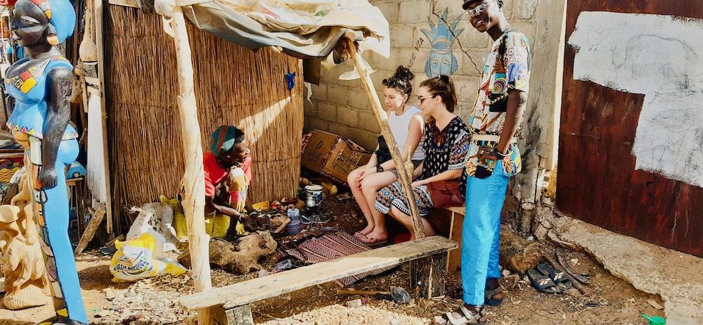 Senegal vakantie markt Somone
