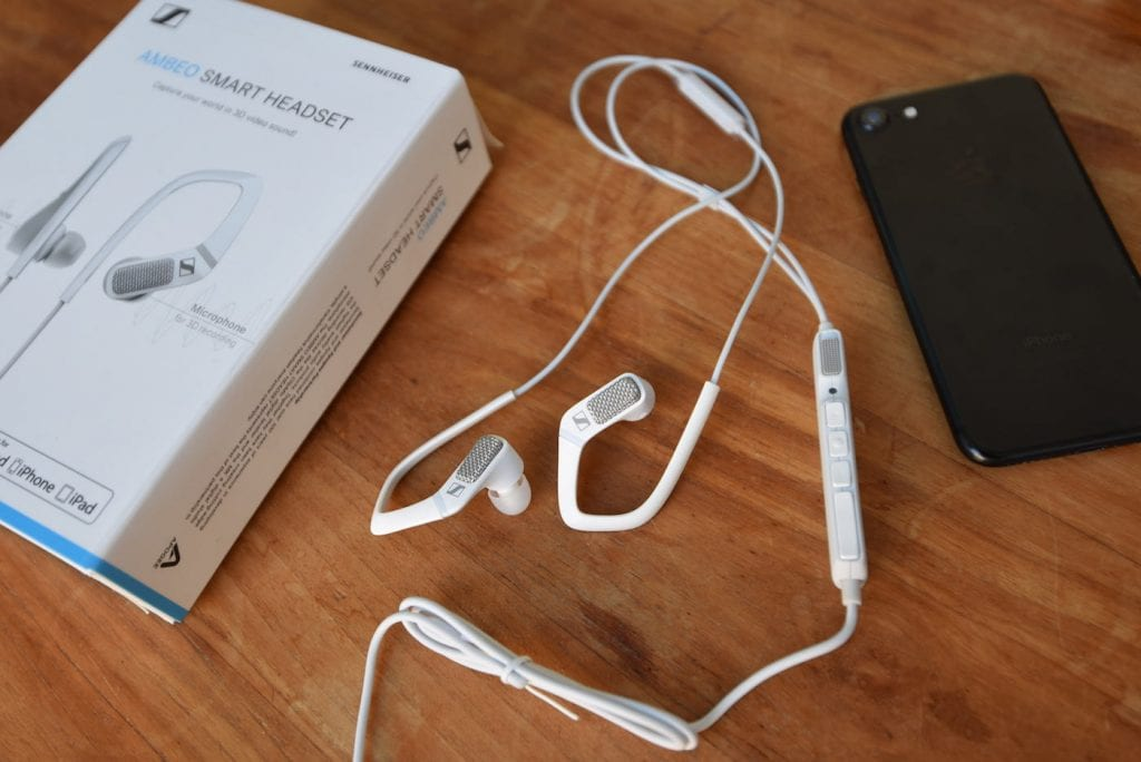 Sennheiser smart ears microfoon 3 d geluid