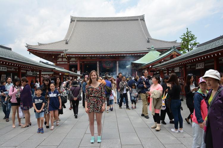 Senso Ji tempel 1 week tokyo
