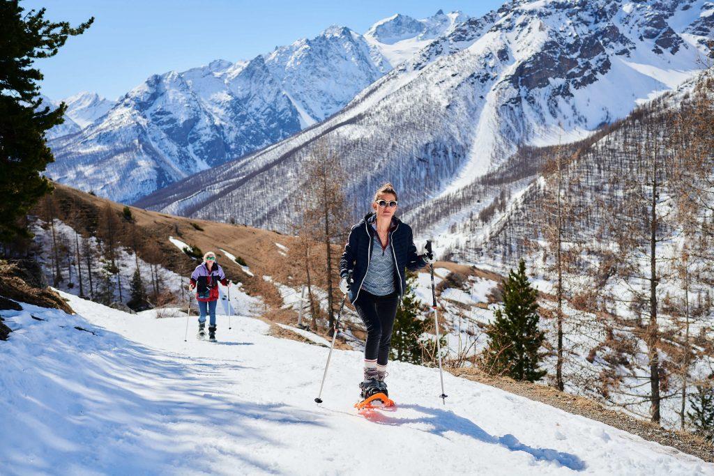 Serre Chevalier snowshoeing
