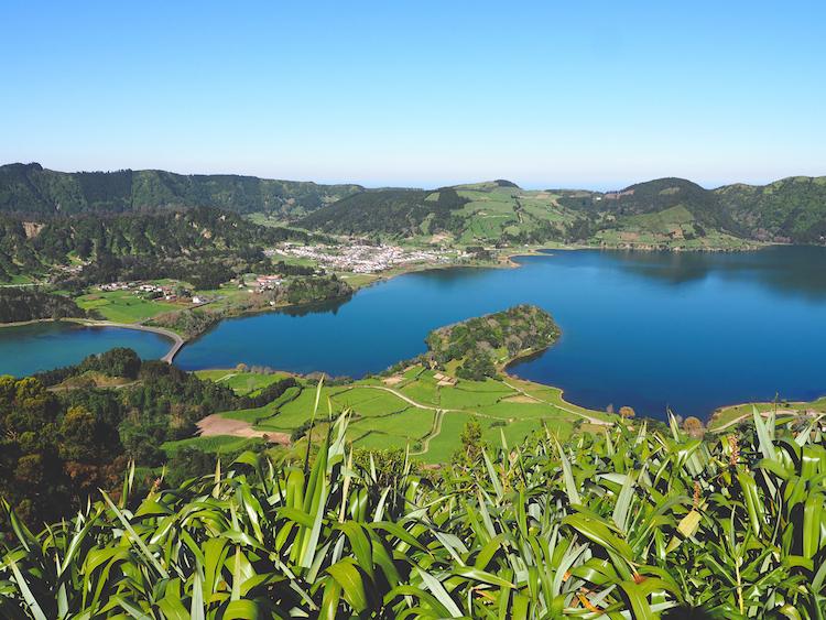 Sete Cidades sao miguel Miradouro do Cerrado das Freiras