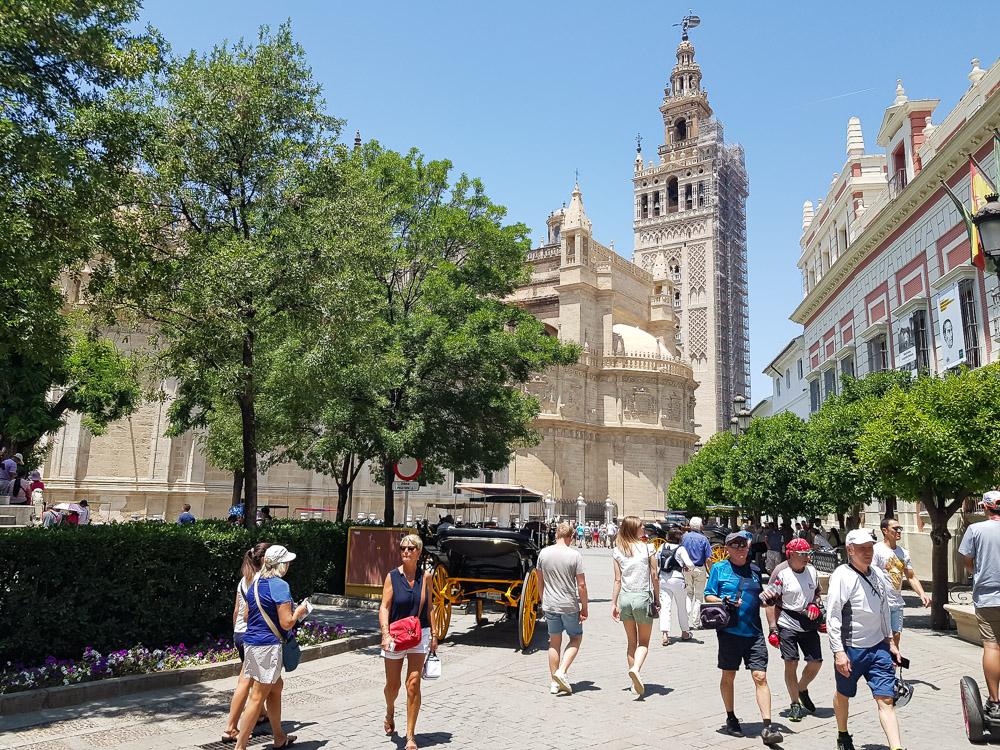 Sevilla La Giralda toren
