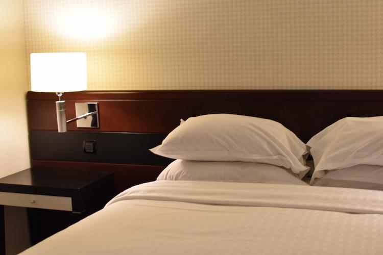 Sheraton airport hotel slapen op schiphol