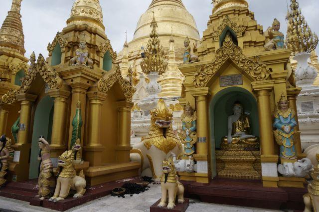 Yangpn Shwedagan tempel