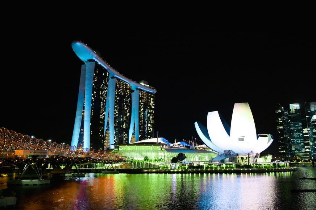 Singapore Marina Bay Sands museum