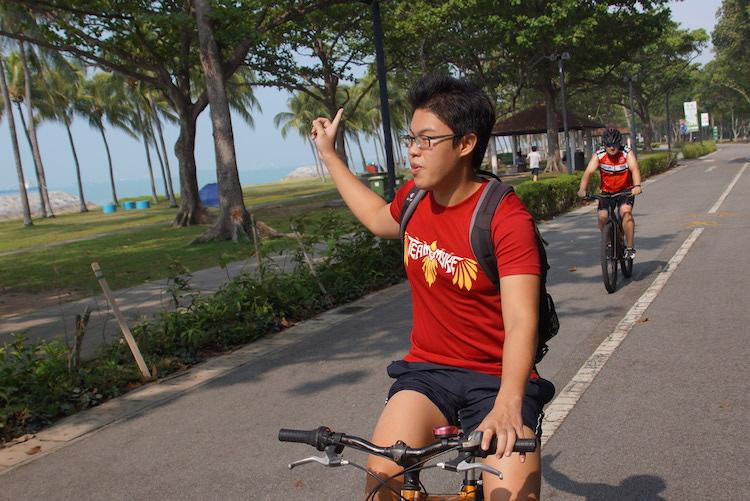 Singapore fietstocht wihtlocals