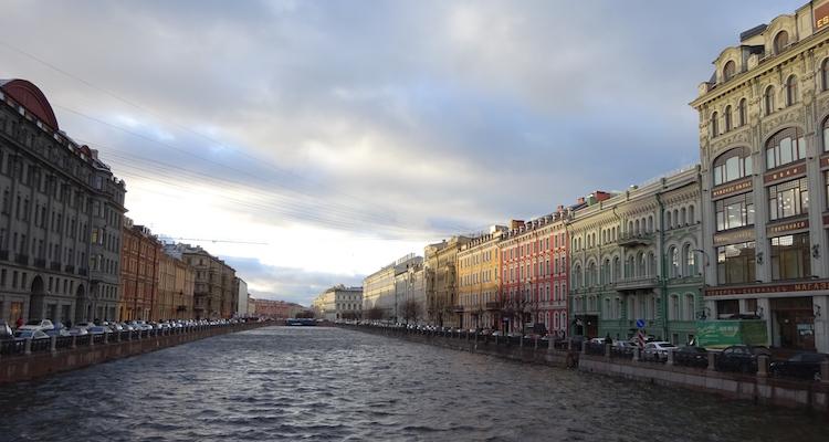 Sint Petersburg grachten