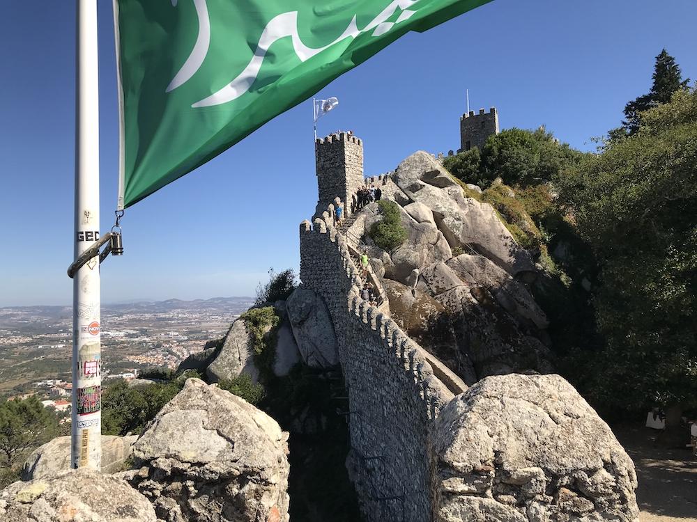 Sintra Castelo dos Mouros portugal