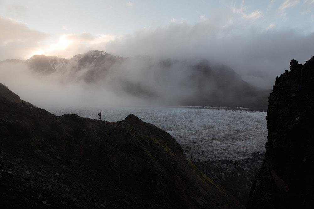 Skaftafell ijsland Vatnajökull gletsjer