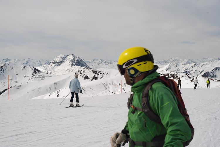 Skien kitzbuheler alpen oostenrijk