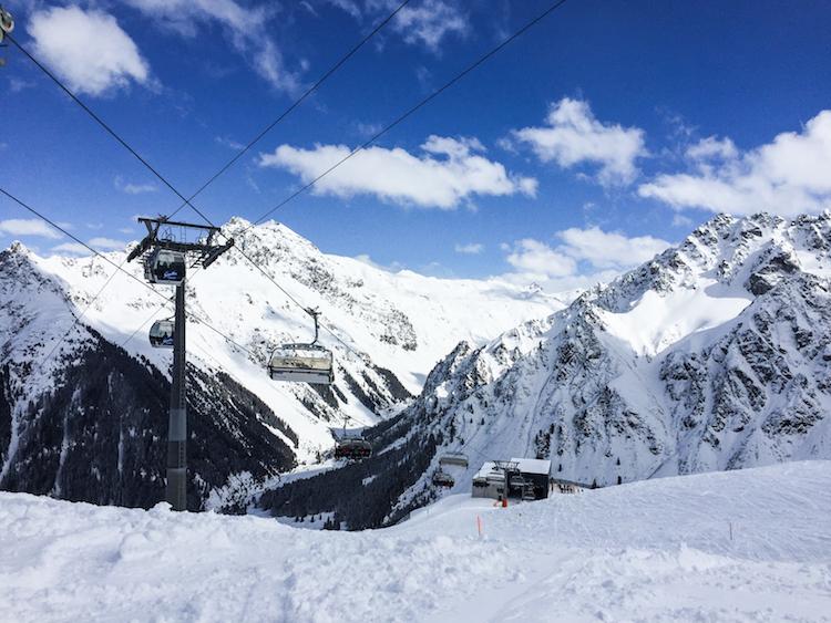 Skigebied Montafon in oostenrijk