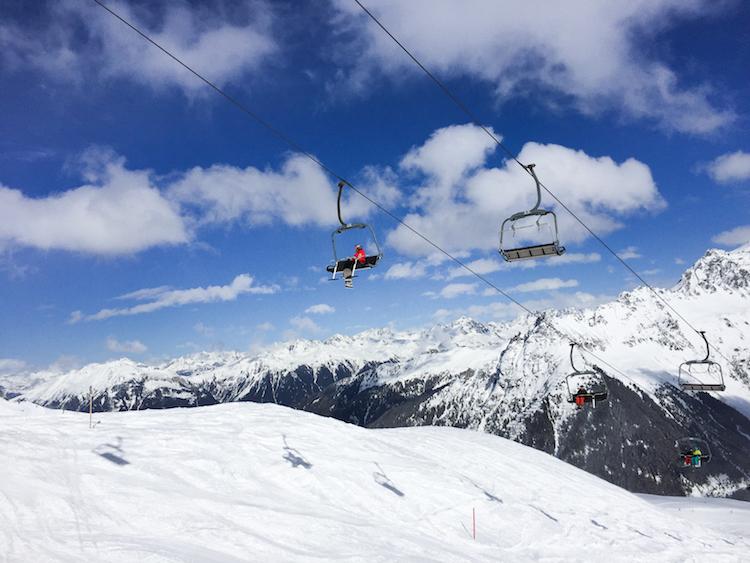 Skigebied Montafon liften