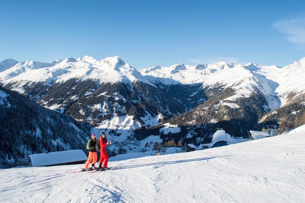Skipistes Oost Tirol skigebied oostenrijk