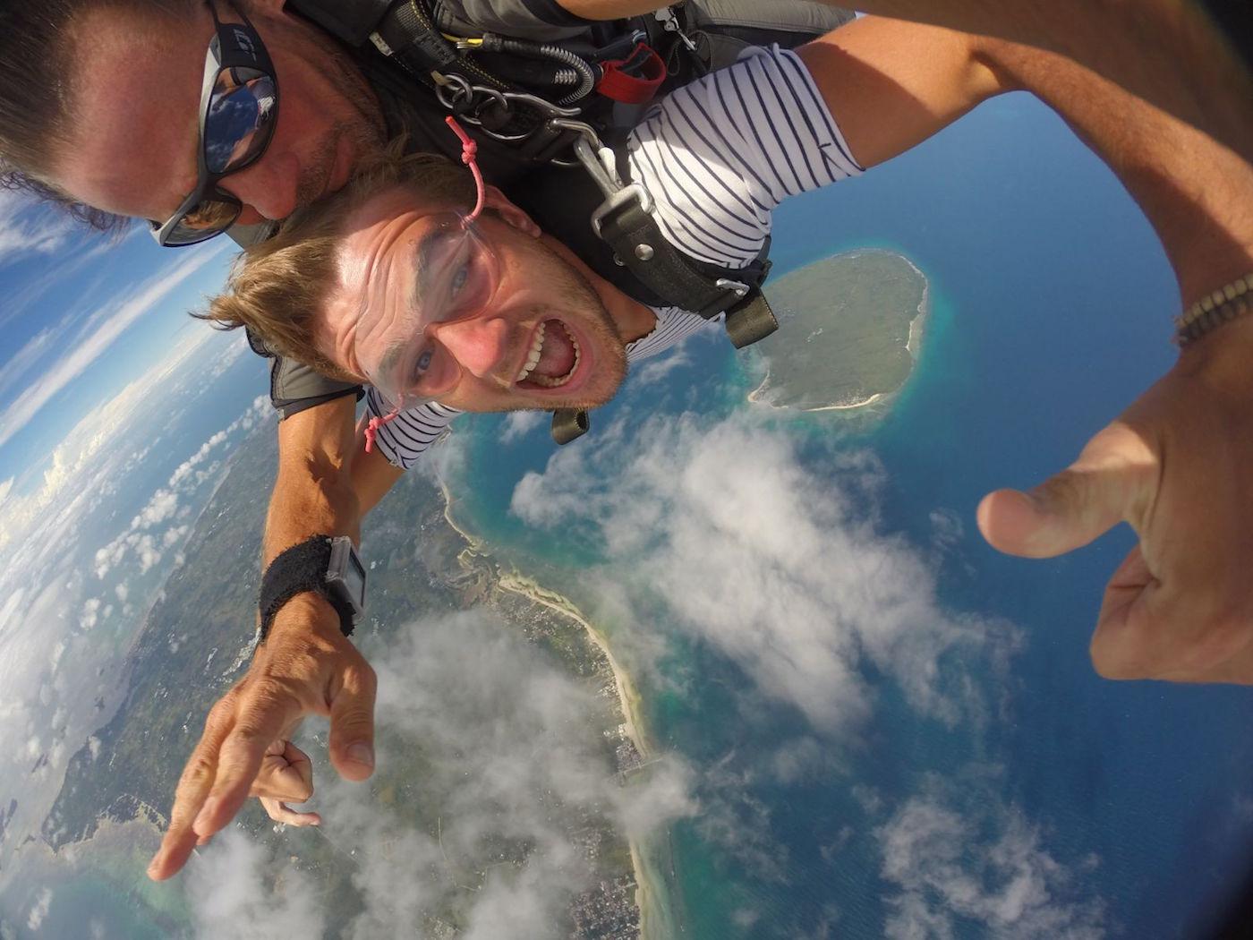 Skydive Cebu Filipijnen