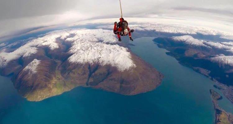 Skydiven Nieuw zeeland backpacken tips