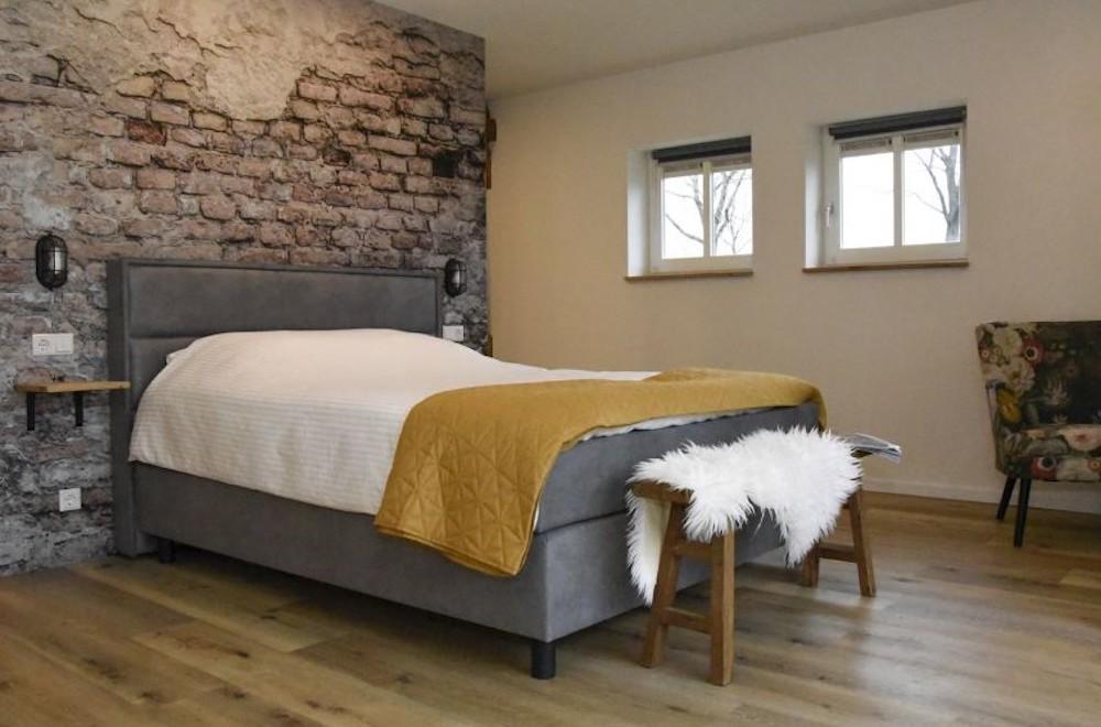 Slaapkamer huisje Een
