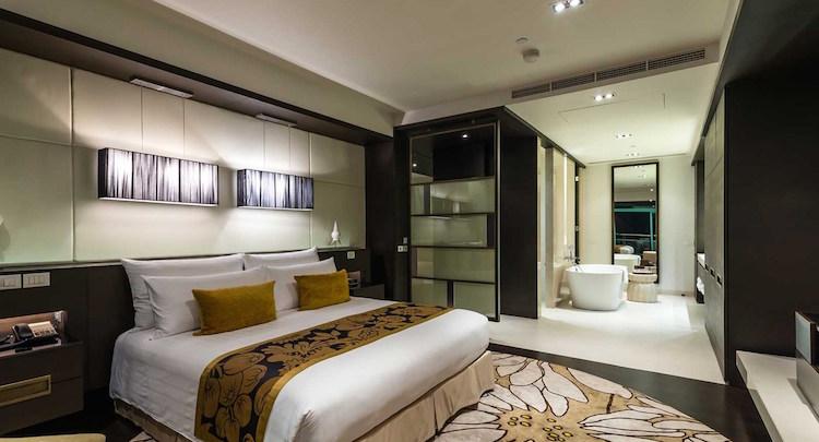 Slaapkamer vijf sterren hotel thailand