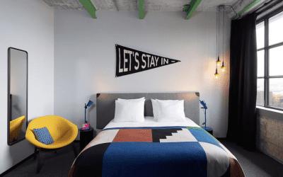 Slapen in Maastricht student hotel