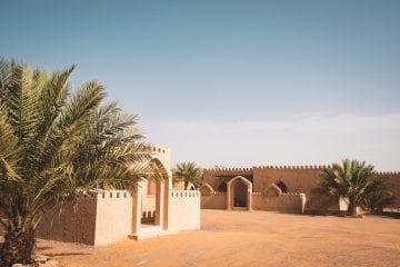 Slapen in de woestijn Oman_