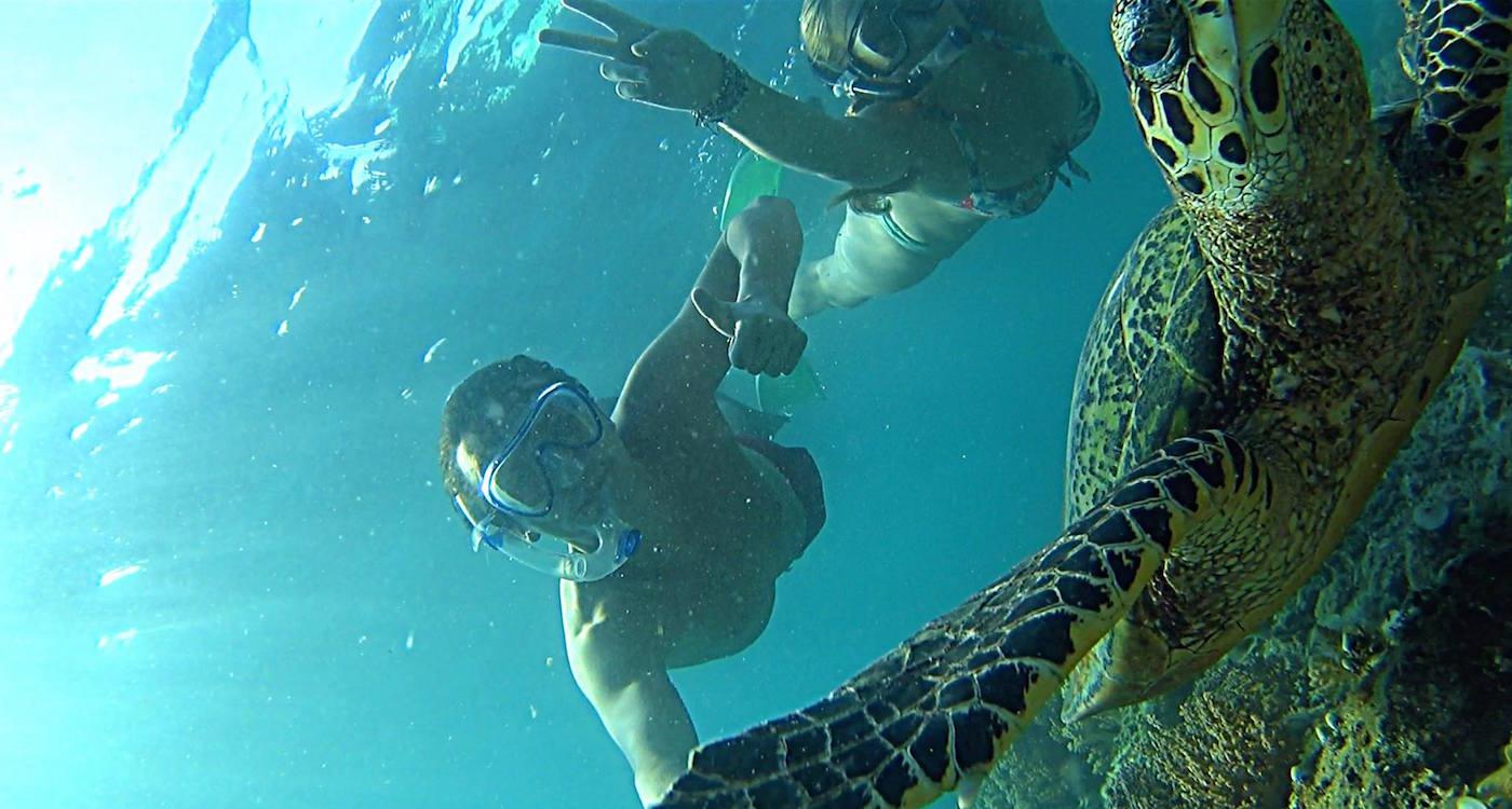 Snorkelen gili eilanden gilis