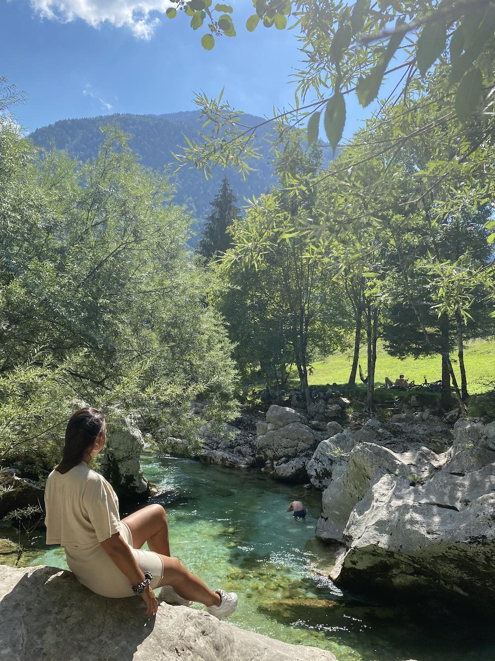 Soca rivier, Slovenie