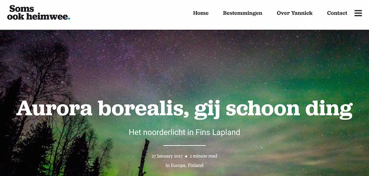 Soms ook Heimwee Belgische reisblog