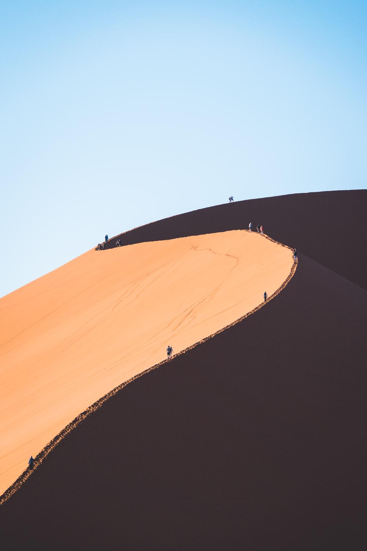 Sossusvlei Namibie Dune 45