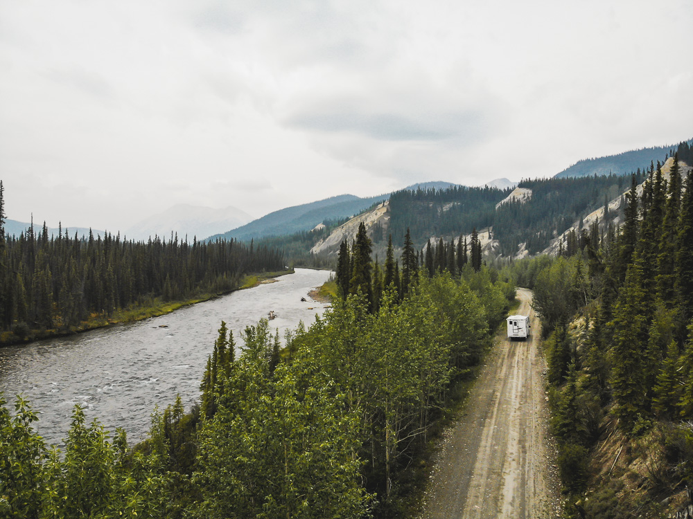 South Canol Road in Yukon