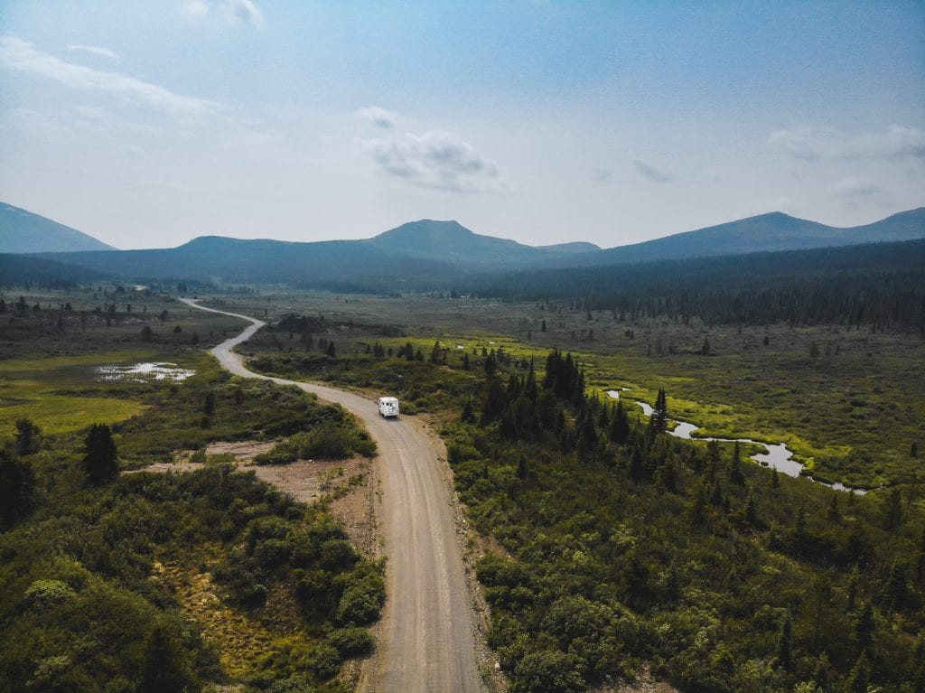 South canol road Yukon Canada