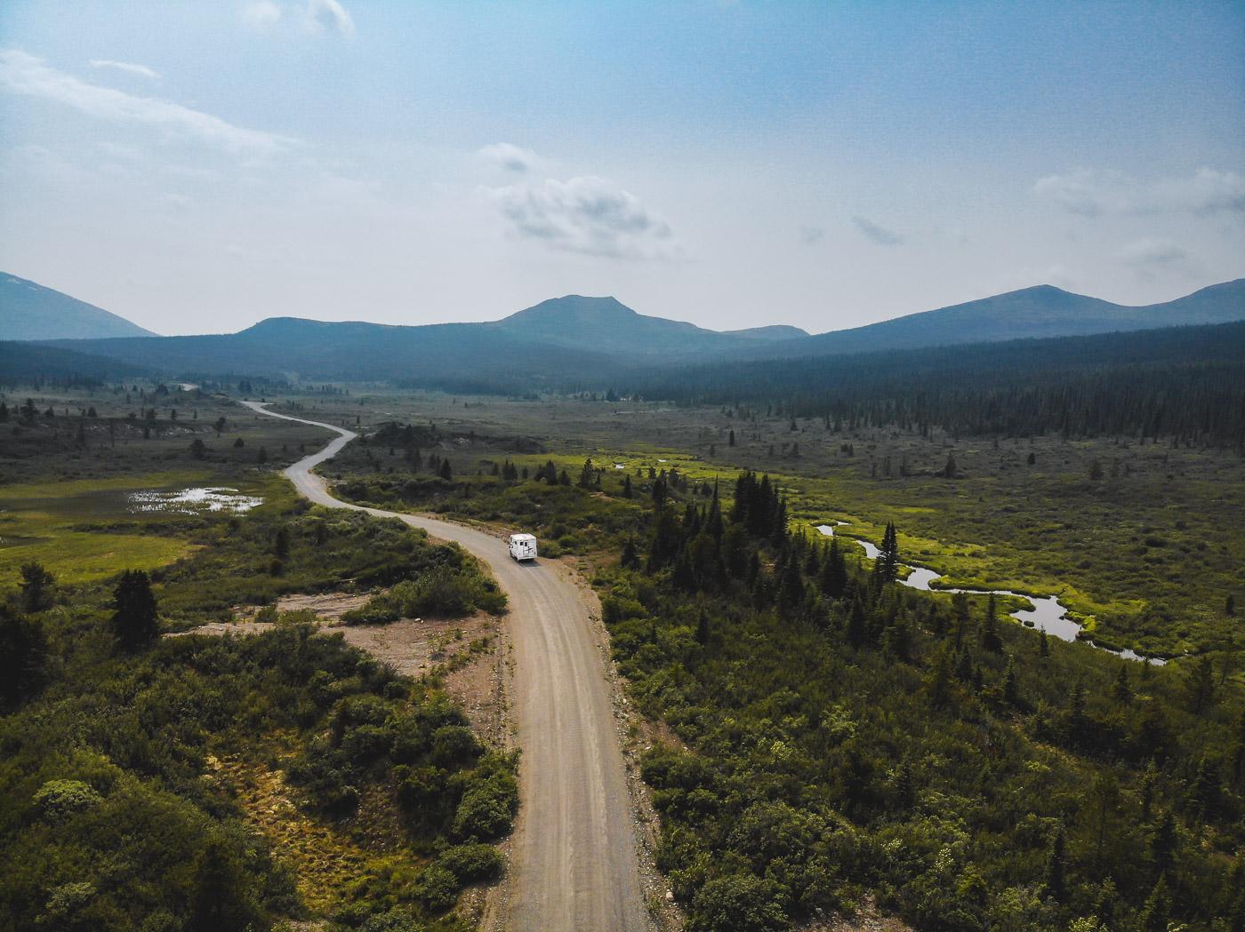 South canol road Yukon Canada