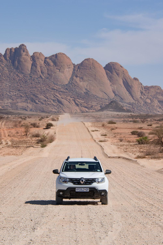 Spitzkoppe Damaraland Rondreis Namibie