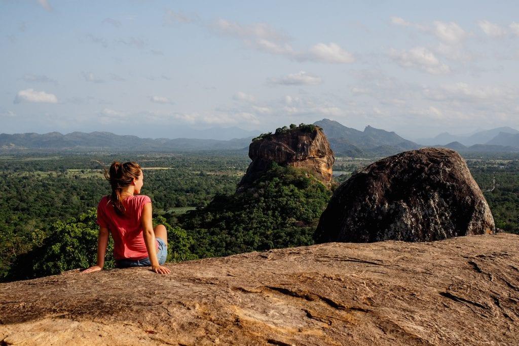 Sri Lanka Pidurangala Sigirya