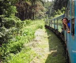 Sri Lanka trein Kandy