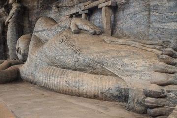 SriLanka liggende boedha