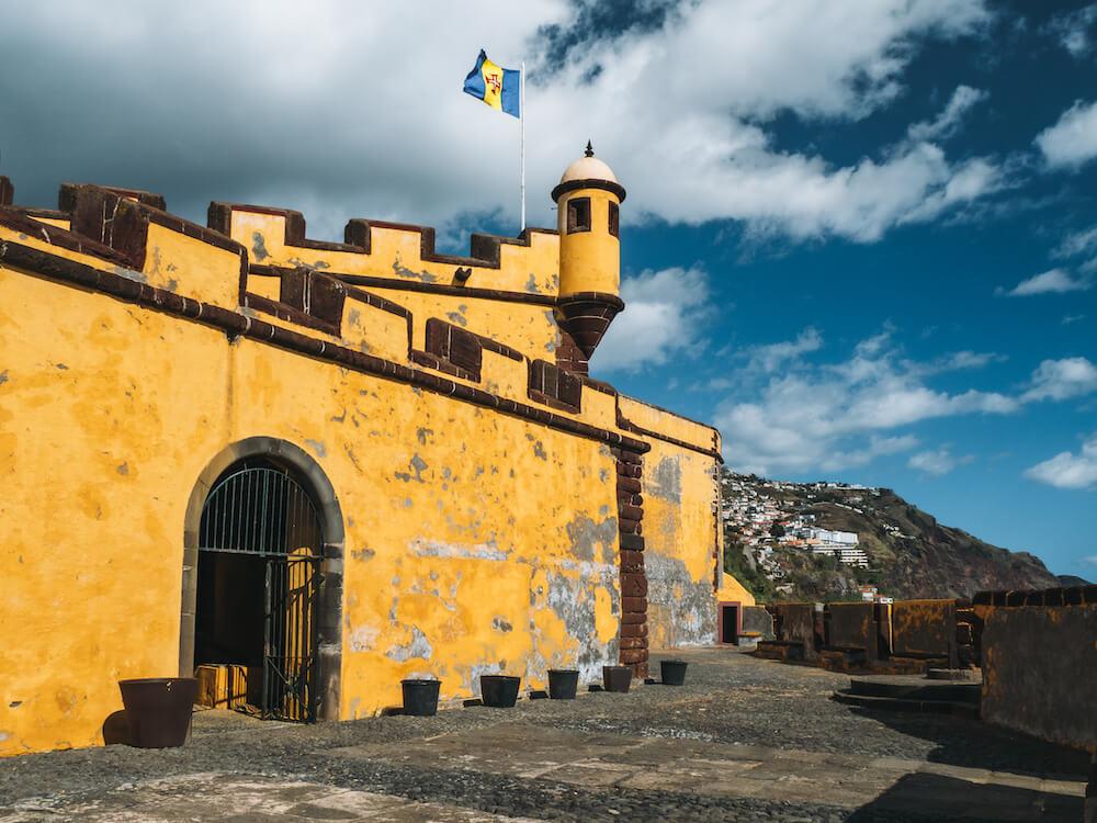 St. Tiago fortress madeira