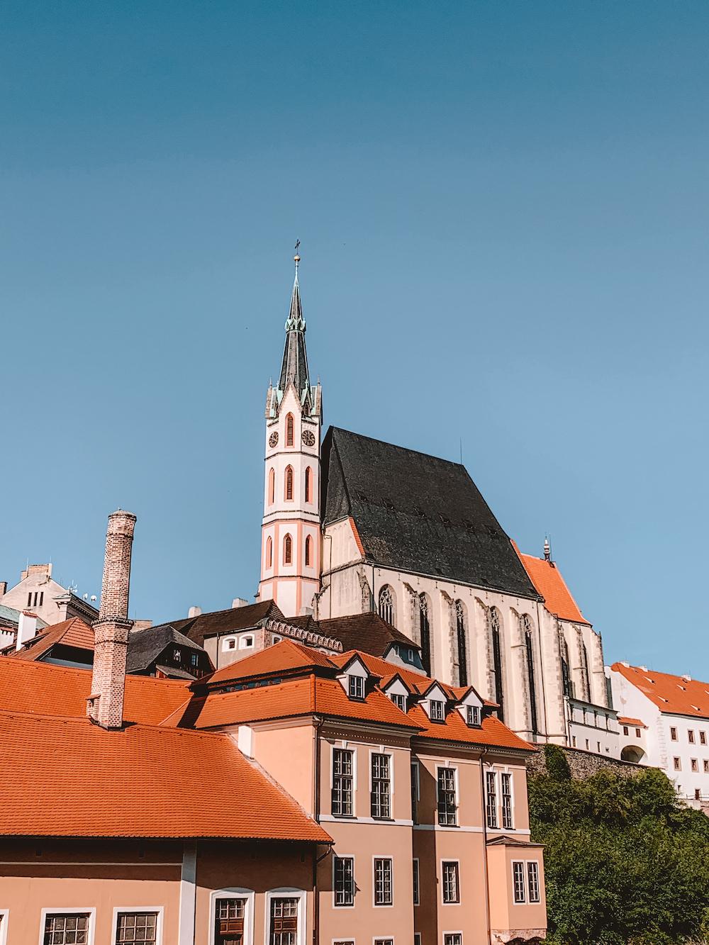 St. Vituskerk Cesky Krumlov