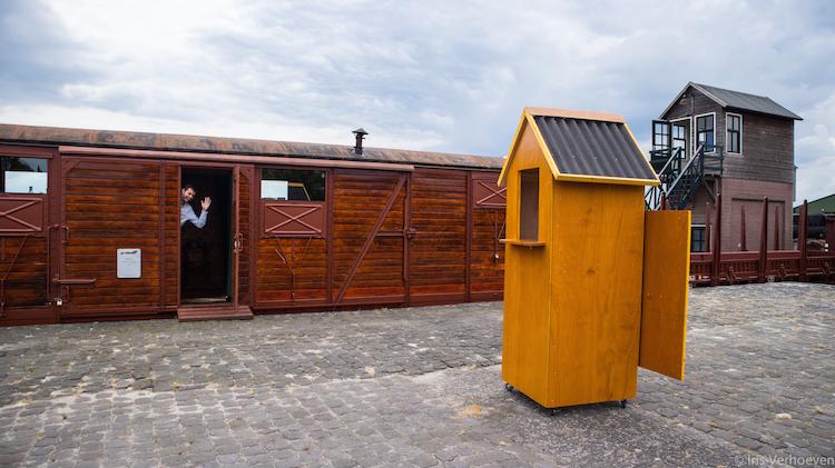 stadskanaal huisje wagon bijzonder overnachten nederland