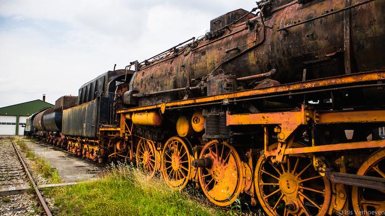 Stadskanaal oude treinen Bijzonder overnachten in Nederland