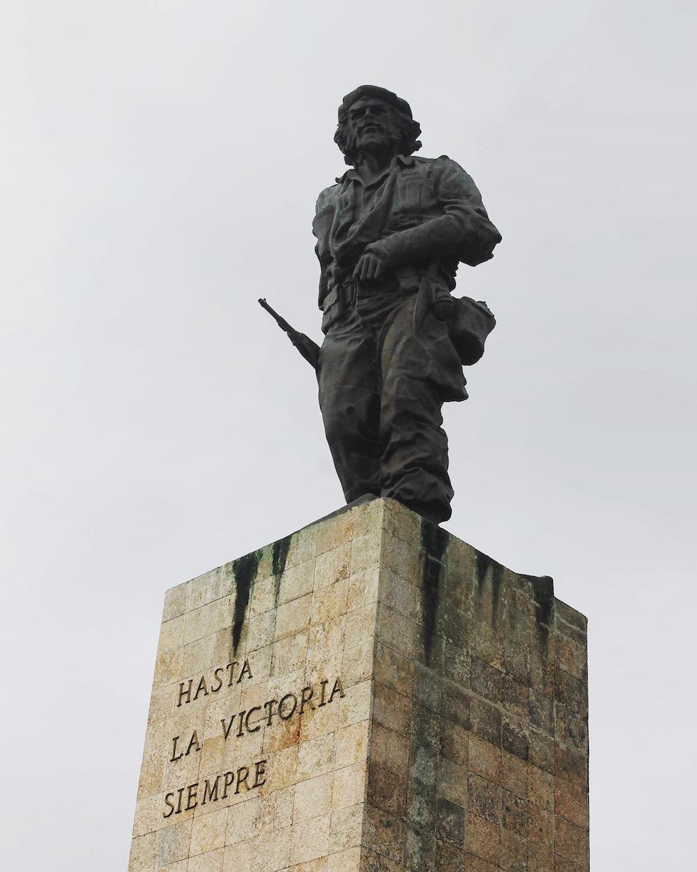 Standbeeld in Santa Clara, Cuba