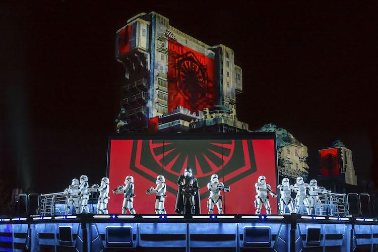 Star wars disneyland paris Avondshow