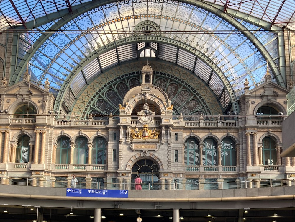 Bezienswaardigheden, Station Antwerpen