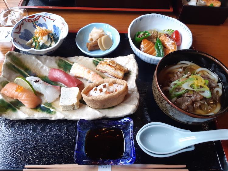 Staycation Amsterdam Yamazato lunch