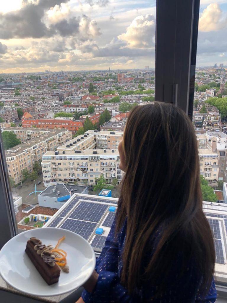 Staycation amsterdam uitzicht