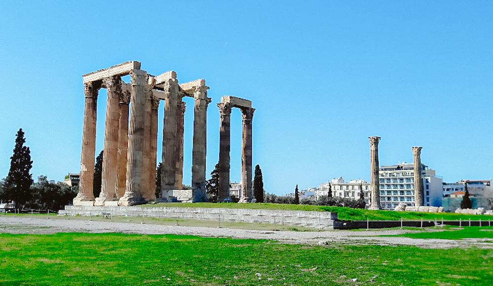 Stedentrip Athene Poort van Hadrianus en het Olympieion