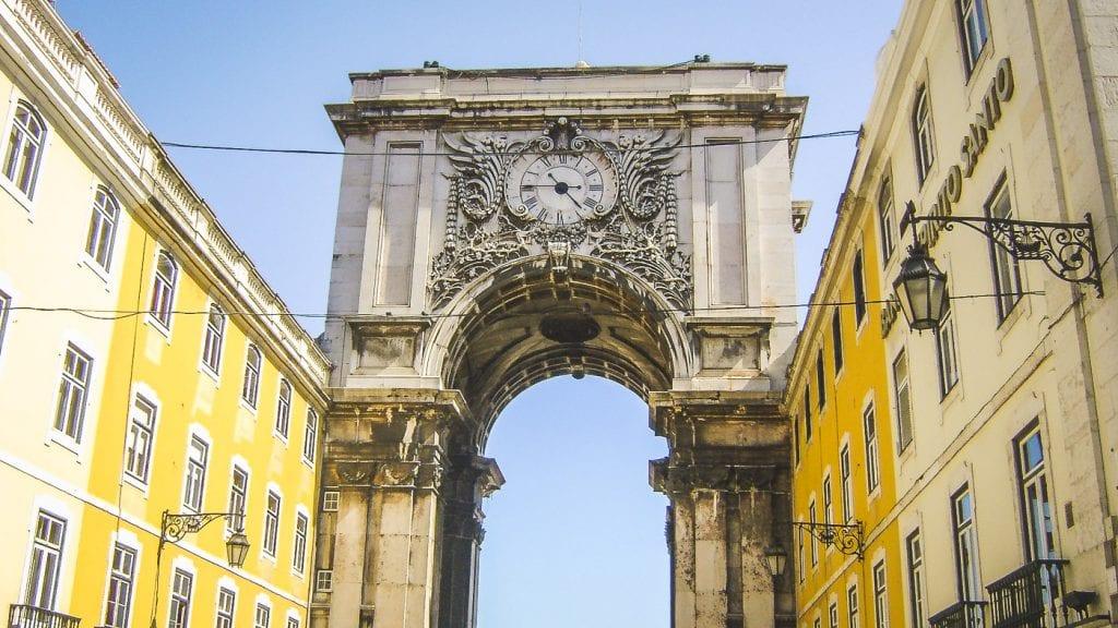 Stedentrip Lissabon poort