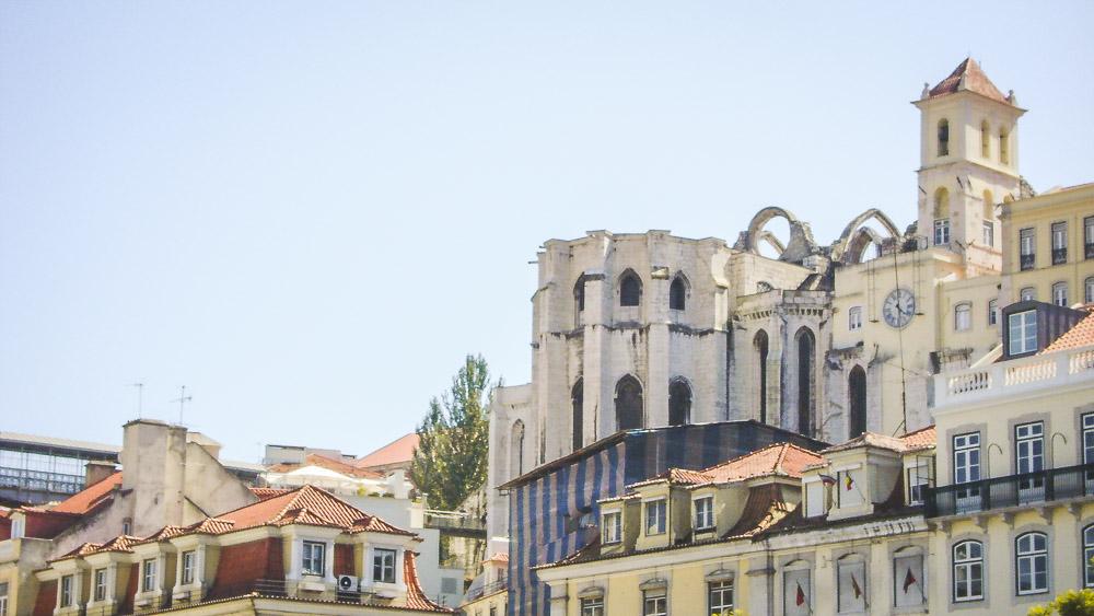 Stedentrip Lissabon ruine