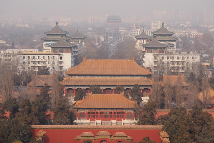 stedentrip beijing uitzicht