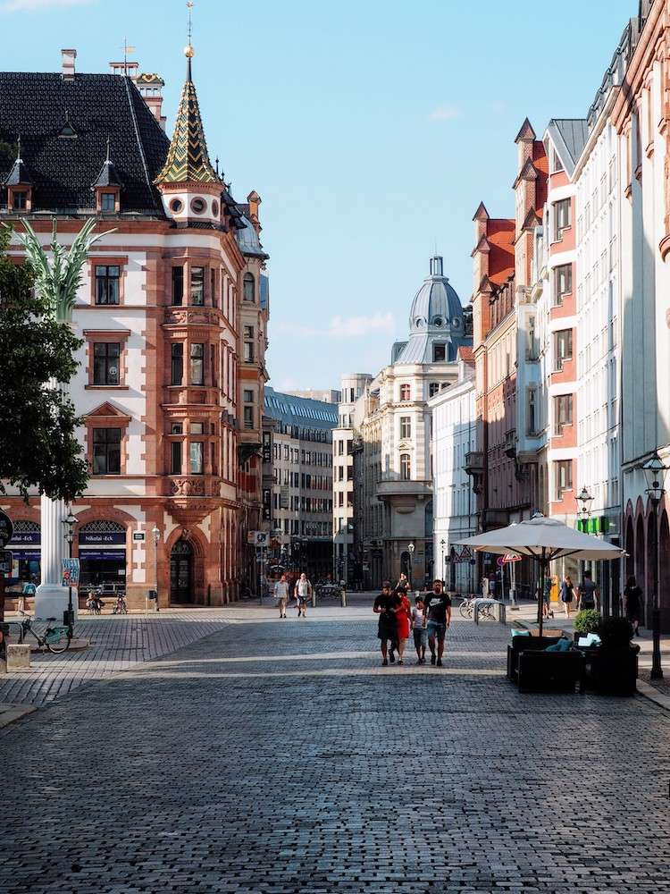 stedentrip leipzig straatjes