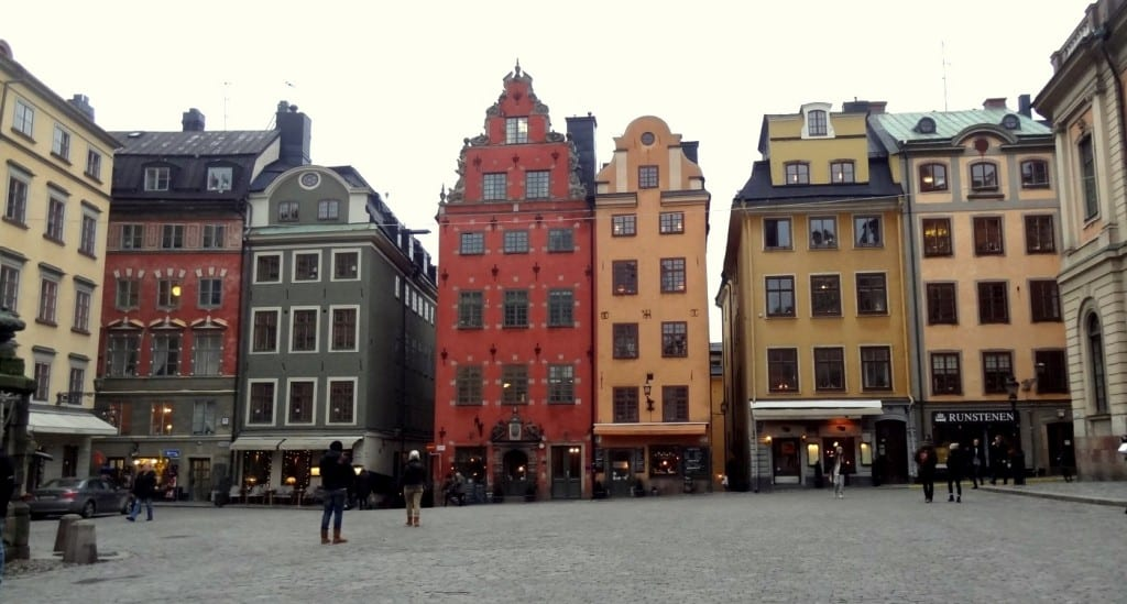 Visite de la ville de Stockholm